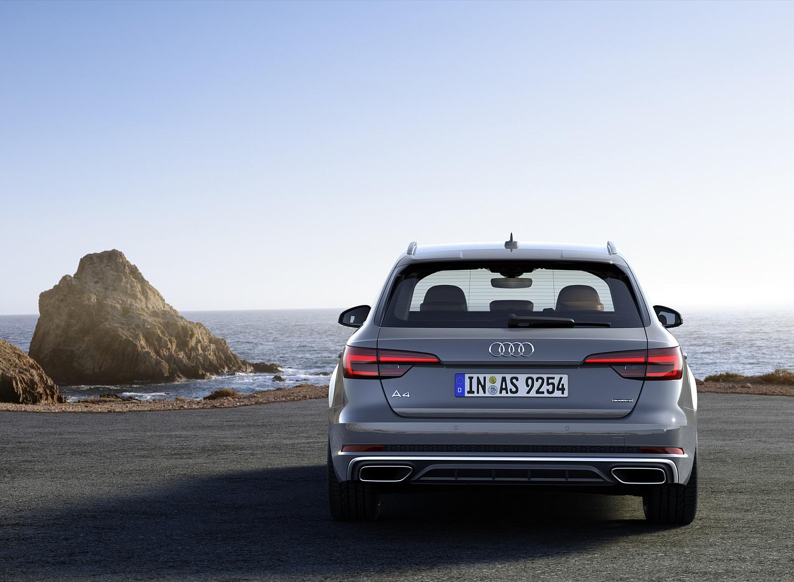 2019 Audi A4 Avant (Color: Quantum Gray) Rear Wallpapers (8)
