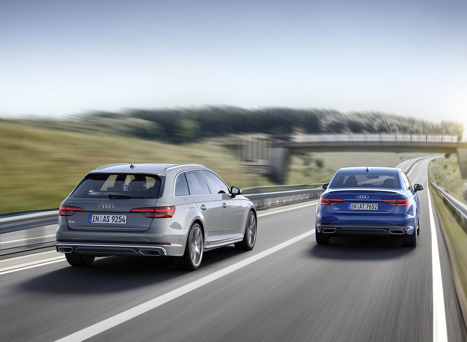 2019 Audi A4 Avant (Color: Quantum Gray) Rear Wallpapers (4)