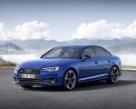 2019 Audi A4 (Color: Ascari Blue) Front Three-Quarter Wallpapers 150x120 (26)