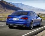 2019 Audi A4 (Color: Ascari Blue) Rear Wallpapers 150x120 (29)