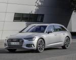 2019 Audi A6 Avant (Color: Florett Silver) Front Three-Quarter Wallpapers 150x120 (22)
