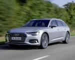 2019 Audi A6 Avant (Color: Florett Silver) Front Three-Quarter Wallpapers 150x120 (18)