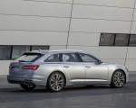 2019 Audi A6 Avant (Color: Florett Silver) Rear Three-Quarter Wallpapers 150x120 (23)