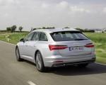 2019 Audi A6 Avant (Color: Florett Silver) Rear Three-Quarter Wallpapers 150x120 (20)