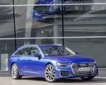 2019 Audi A6 Avant (Color: Sepang Blue) Front Three-Quarter Wallpapers 150x120 (44)