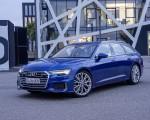 2019 Audi A6 Avant (Color: Sepang Blue) Front Three-Quarter Wallpapers 150x120 (33)
