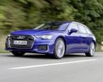 2019 Audi A6 Avant (Color: Sepang Blue) Front Three-Quarter Wallpapers 150x120 (28)
