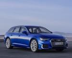2019 Audi A6 Avant (Color: Sepang Blue) Front Three-Quarter Wallpapers 150x120 (9)