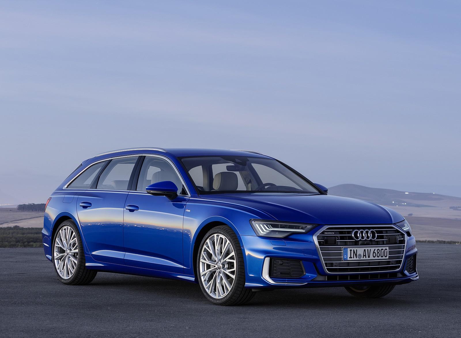 2019 Audi A6 Avant (Color: Sepang Blue) Front Three-Quarter Wallpapers (9)