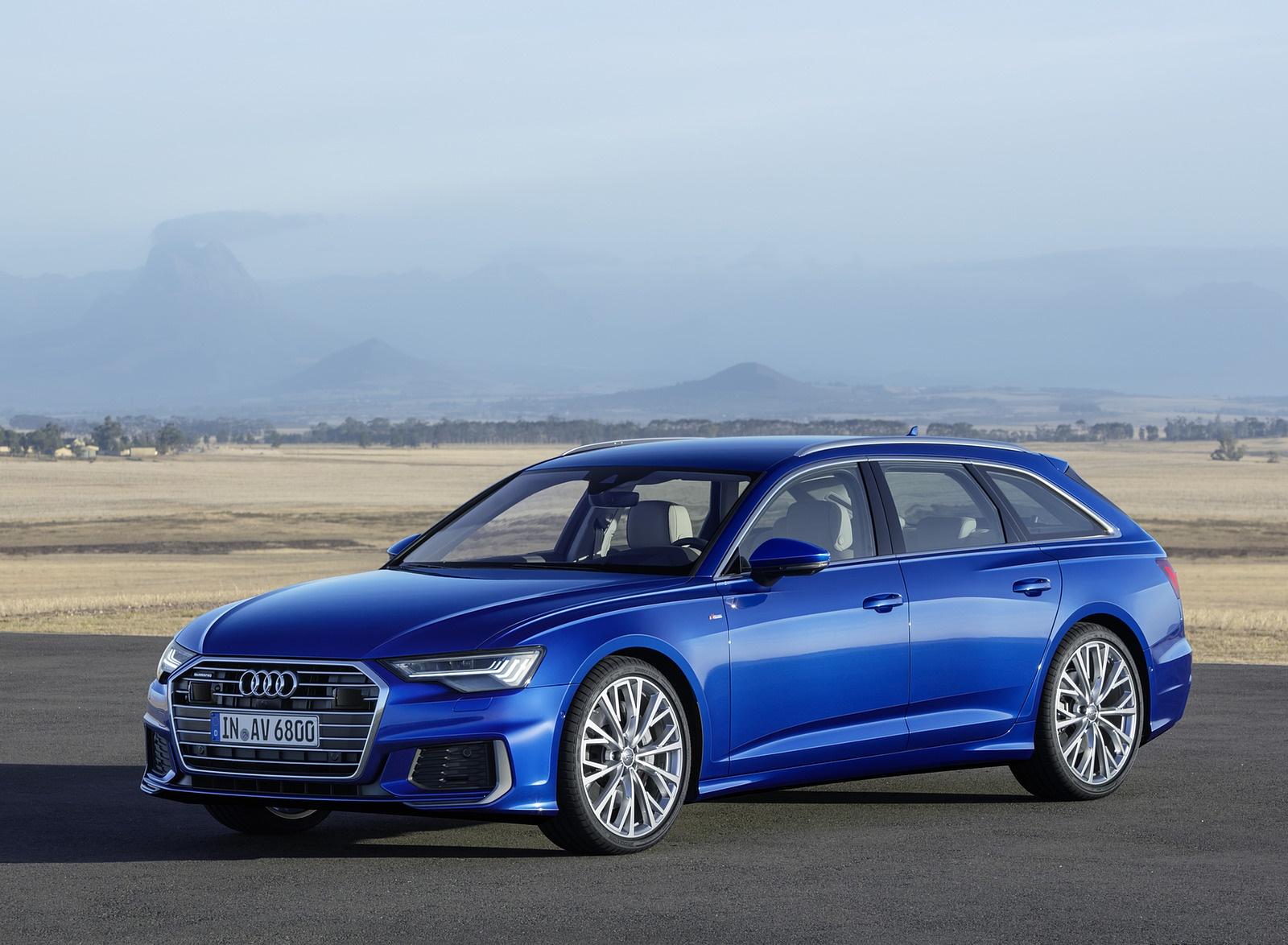 2019 Audi A6 Avant (Color: Sepang Blue) Front Three-Quarter Wallpapers (10)