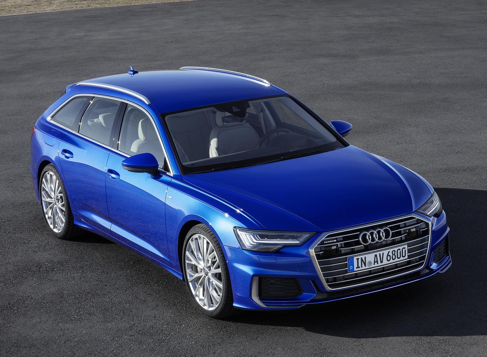 2019 Audi A6 Avant (Color: Sepang Blue) Front Three-Quarter Wallpapers (11)