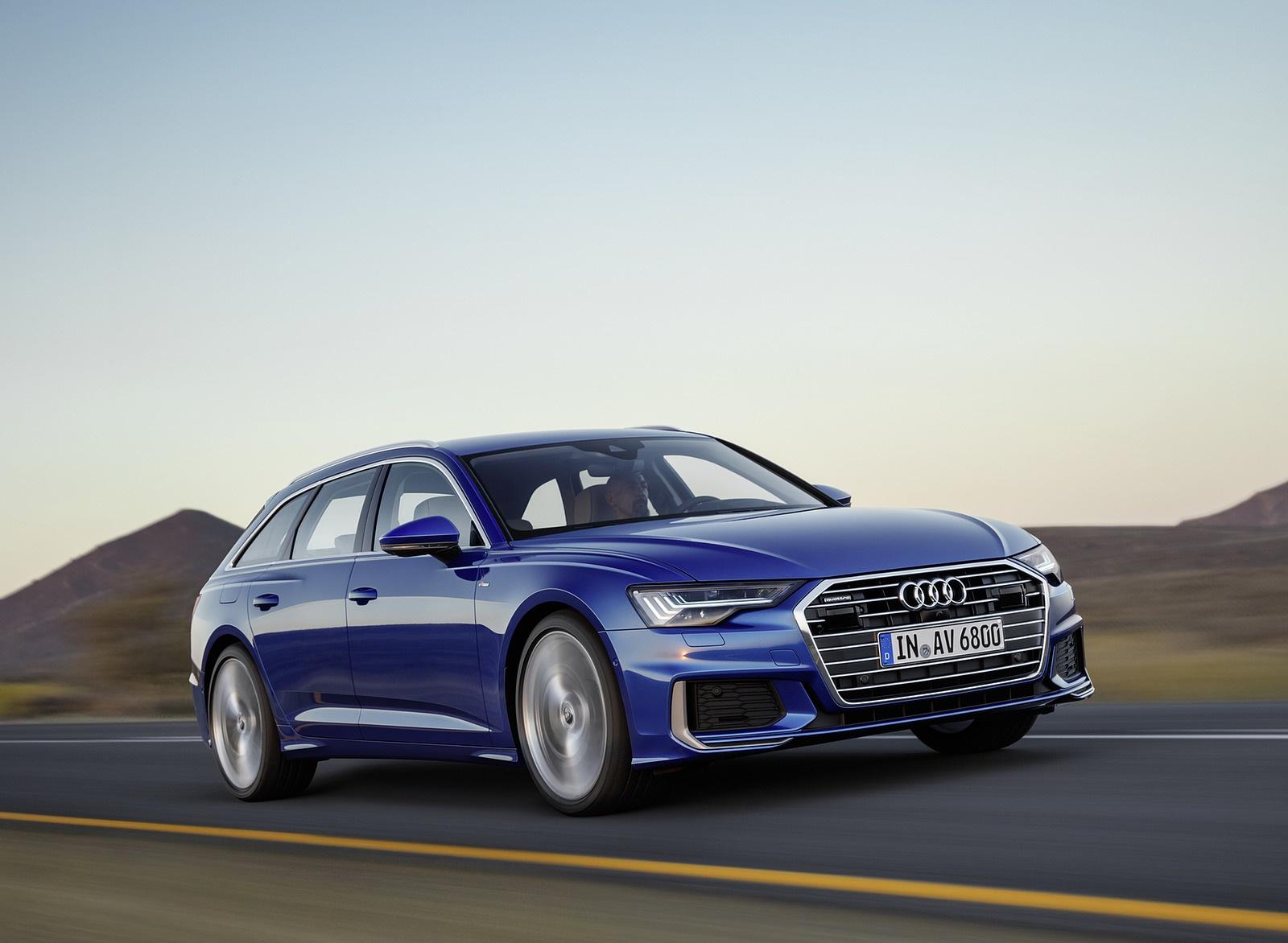 2019 Audi A6 Avant (Color: Sepang Blue) Front Three-Quarter Wallpapers (1)