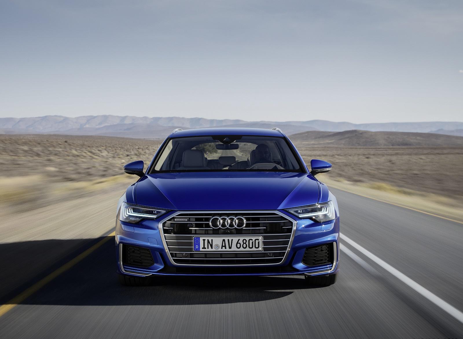 2019 Audi A6 Avant (Color: Sepang Blue) Front Wallpapers (2)