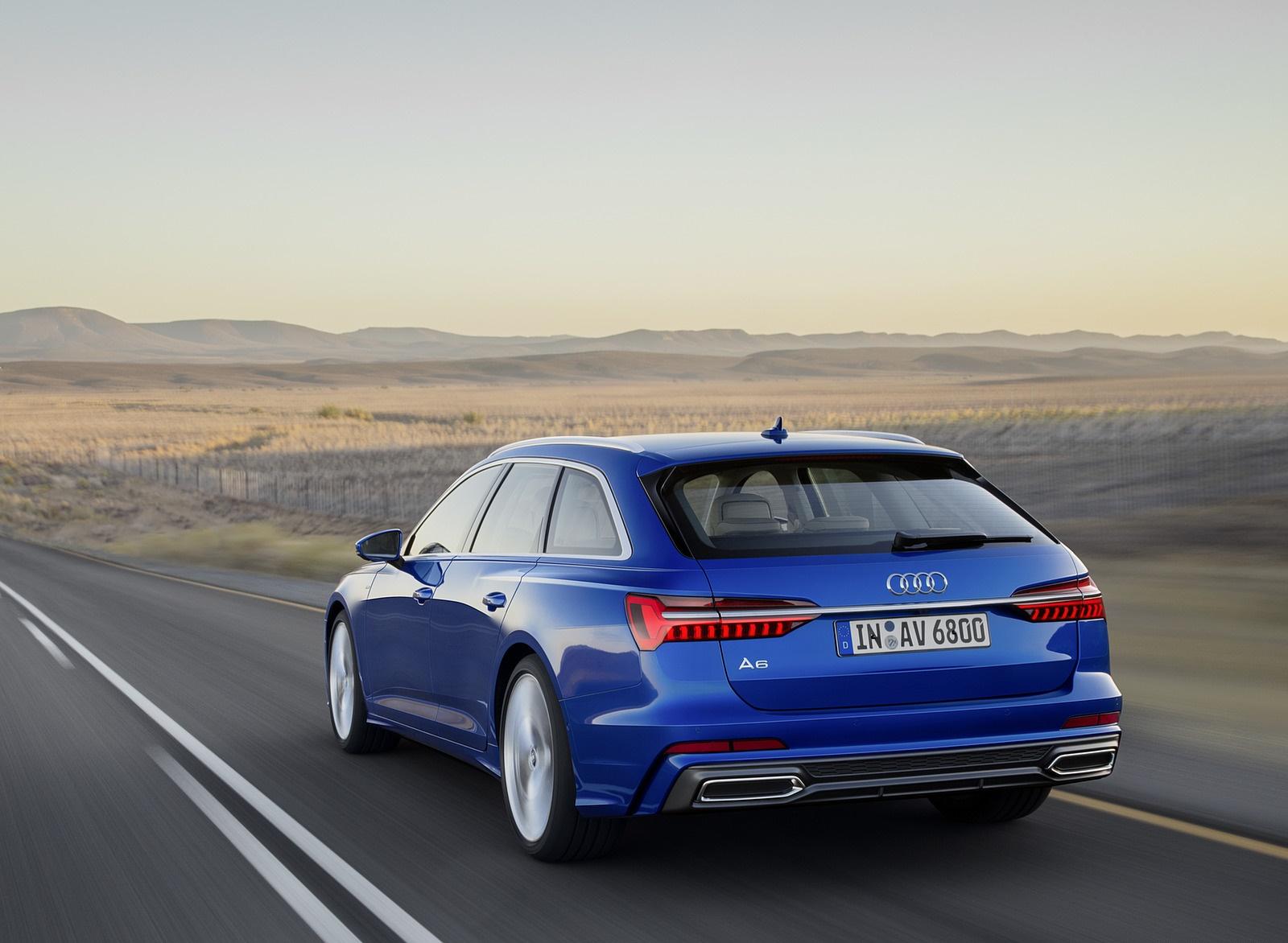 2019 Audi A6 Avant (Color: Sepang Blue) Rear Three-Quarter Wallpapers (3)