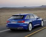 2019 Audi A6 Avant (Color: Sepang Blue) Rear Three-Quarter Wallpapers 150x120 (4)
