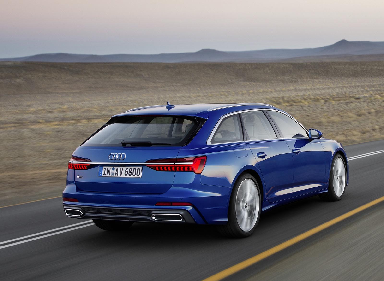 2019 Audi A6 Avant (Color: Sepang Blue) Rear Three-Quarter Wallpapers (4)