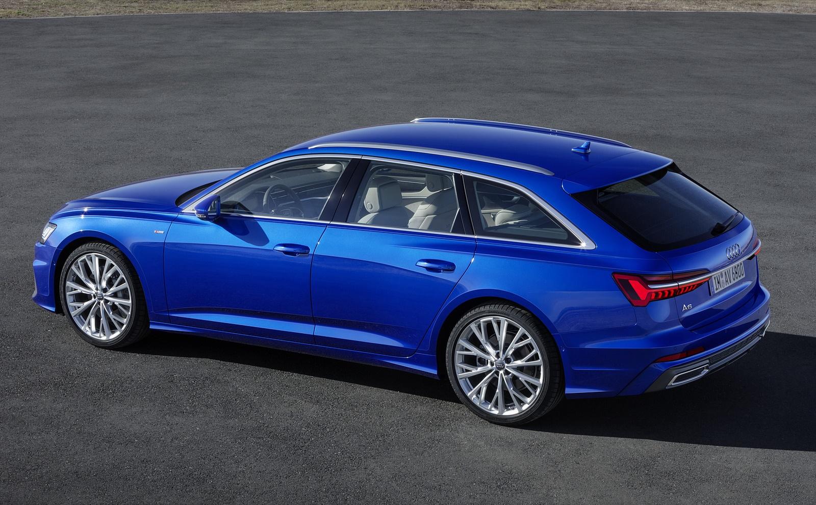 2019 Audi A6 Avant (Color: Sepang Blue) Rear Three-Quarter Wallpapers (13)