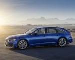 2019 Audi A6 Avant (Color: Sepang Blue) Side Wallpapers 150x120 (14)