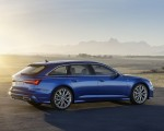 2019 Audi A6 Avant (Color: Sepang Blue) Side Wallpapers 150x120 (15)