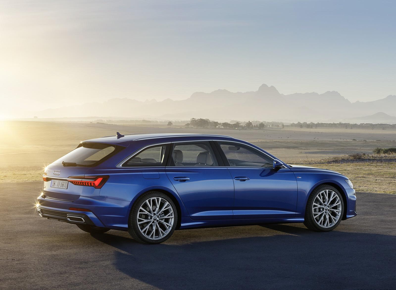 2019 Audi A6 Avant (Color: Sepang Blue) Side Wallpapers (15)
