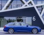 2019 Audi A6 Avant (Color: Sepang Blue) Side Wallpapers 150x120 (37)