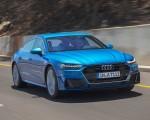 2019 Audi A7 Sportback (Color: Ara Blue) Front Three-Quarter Wallpaper 150x120 (45)