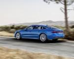 2019 Audi A7 Sportback (Color: Ara Blue) Rear Three-Quarter Wallpaper 150x120 (2)