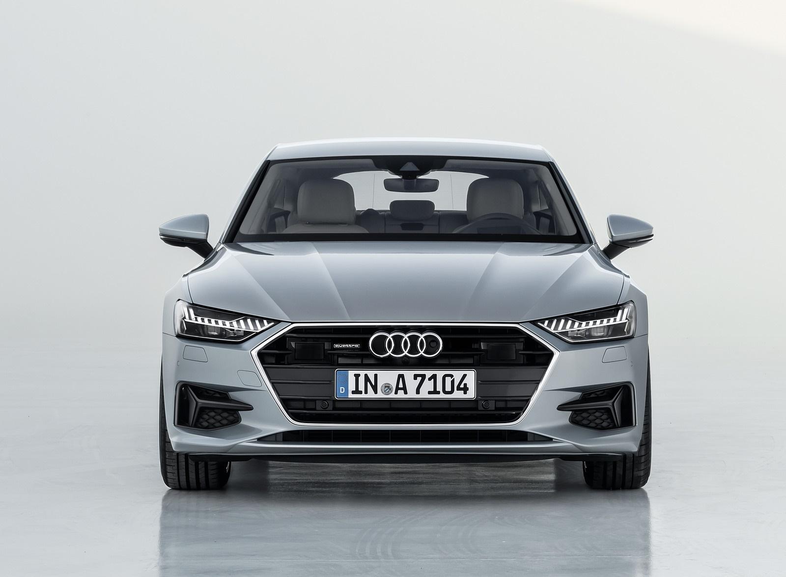 2019 Audi A7 Sportback (Color: Florett Silver) Front Wallpaper (14)