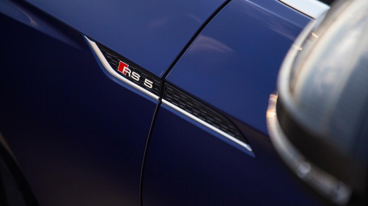 2019 Audi RS5 Sportback Badge Wallpapers (15)