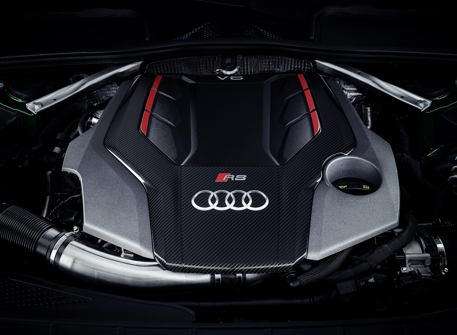 2019 Audi Rs5 Sportback Engine Wallpapers 56 Newcarcars