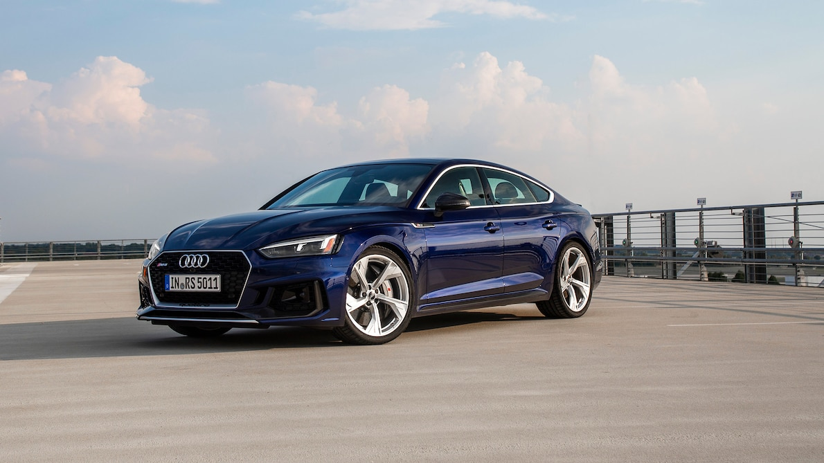 2019 Audi RS5 Sportback Front Three-Quarter Wallpapers (7)