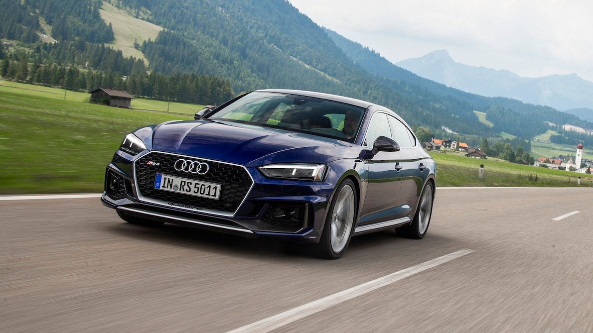 2019 Audi RS5 Sportback Front Three-Quarter Wallpapers (1)