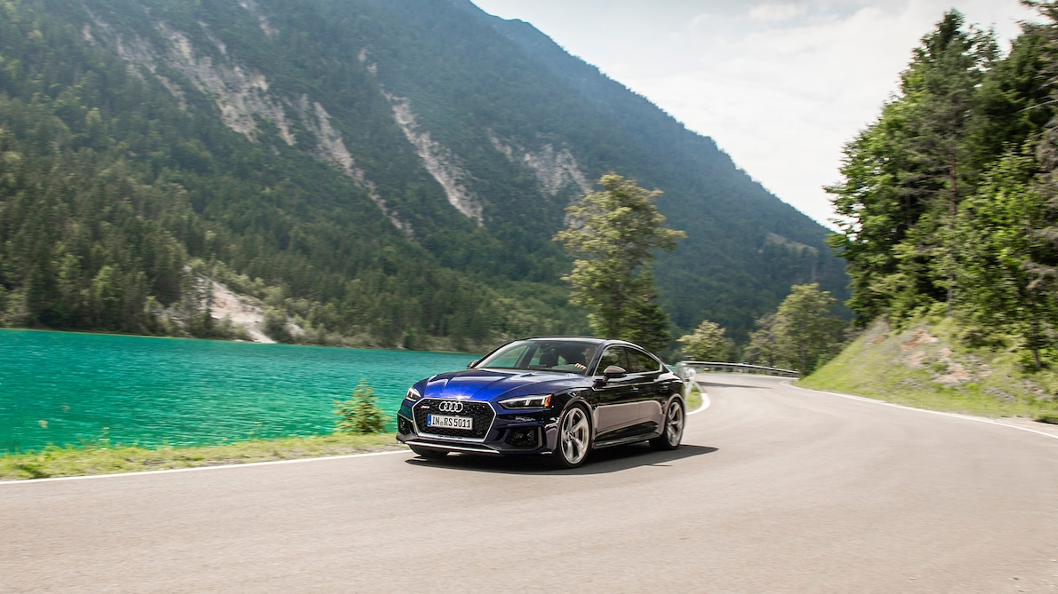2019 Audi RS5 Sportback Front Three-Quarter Wallpapers (4)