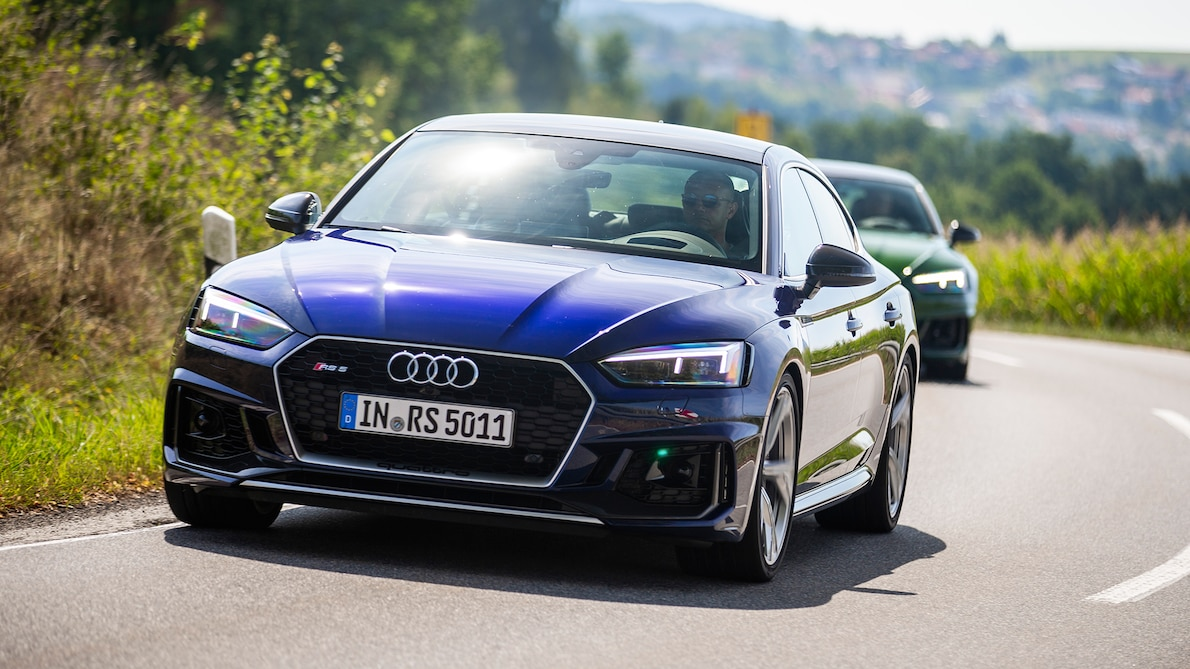2019 Audi RS5 Sportback Front Wallpapers (5)