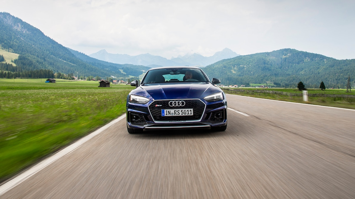 2019 Audi RS5 Sportback Front Wallpapers (1)