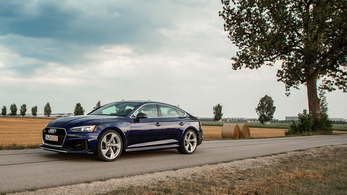 2019 Audi RS5 Sportback Side Wallpapers (9)