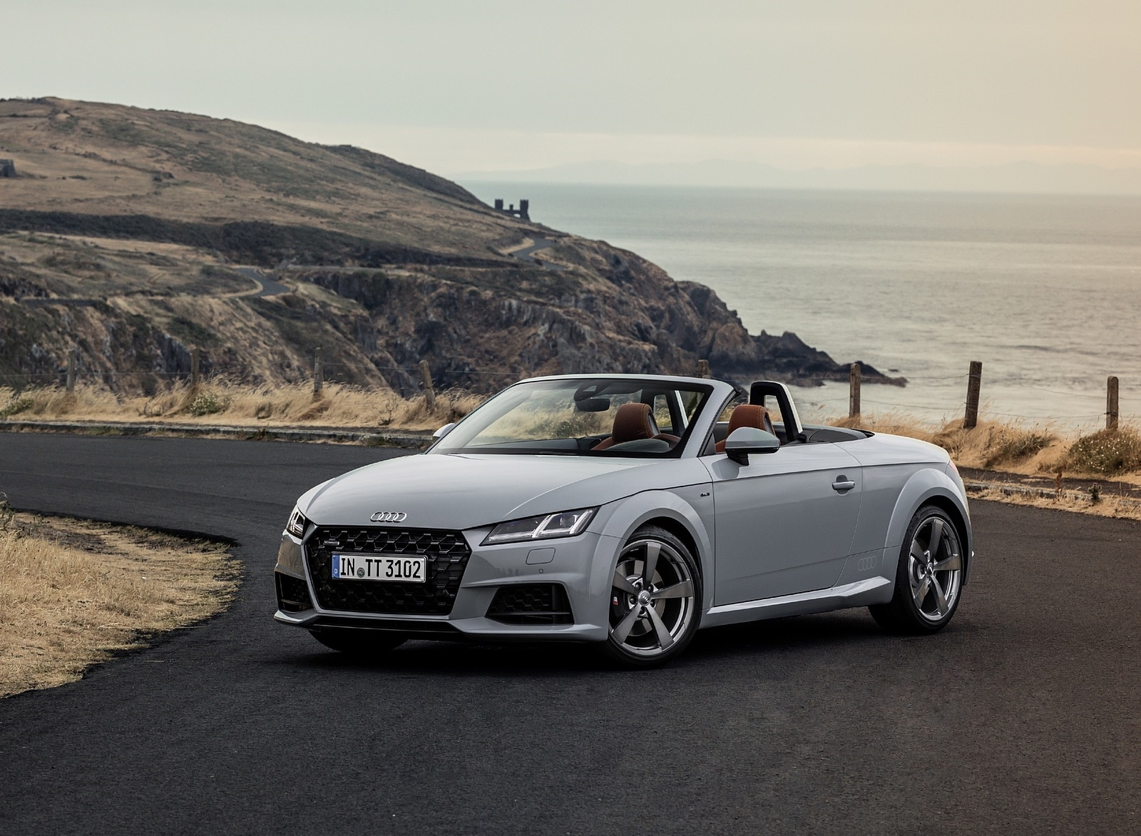 2019 Audi TT 20th Anniversary Edition (Color: Arrow Gray) Front Three-Quarter Wallpapers (13)