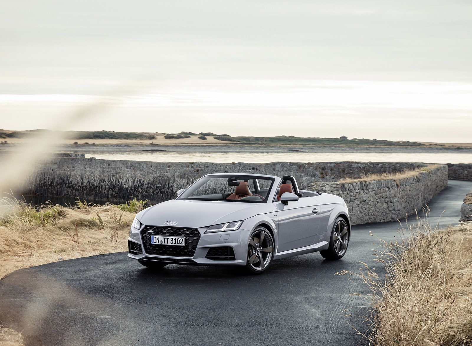 2019 Audi TT 20th Anniversary Edition (Color: Arrow Gray) Front Three-Quarter Wallpapers (14)