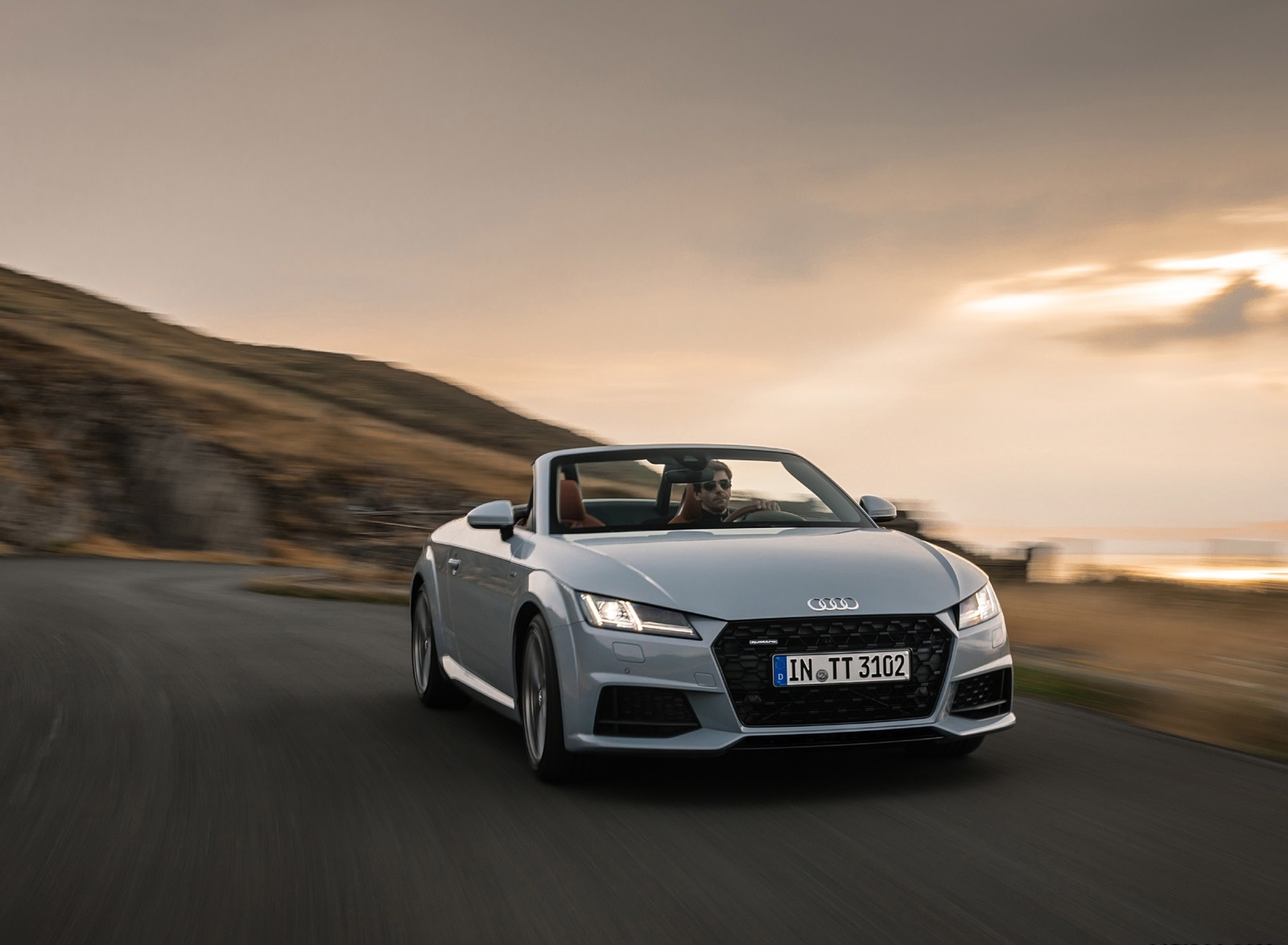 2019 Audi TT 20th Anniversary Edition (Color: Arrow Gray) Front Three-Quarter Wallpapers (2)