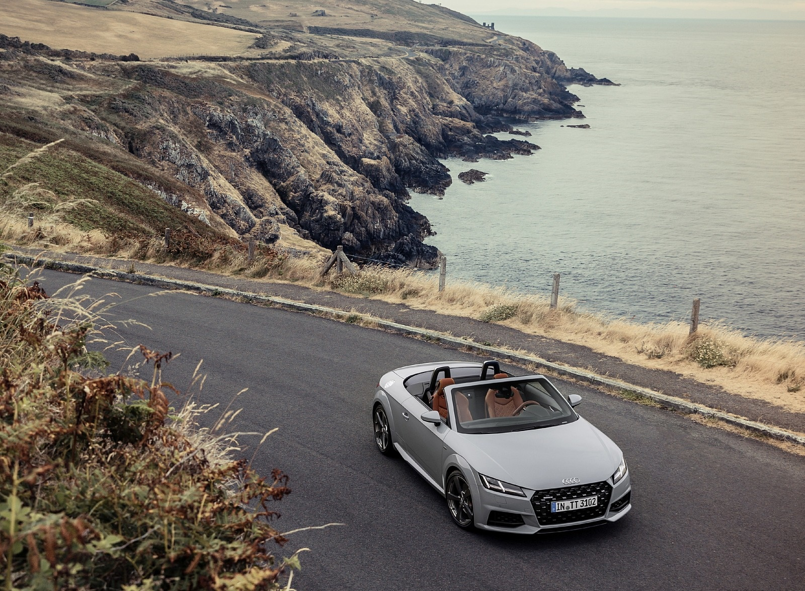 2019 Audi TT 20th Anniversary Edition (Color: Arrow Gray) Front Wallpapers (9)
