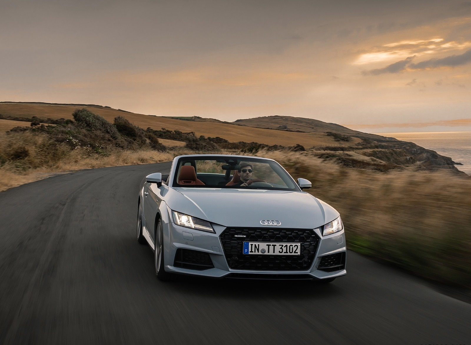 2019 Audi TT 20th Anniversary Edition (Color: Arrow Gray) Front Wallpapers (1)