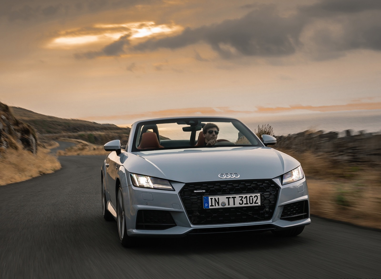 2019 Audi TT 20th Anniversary Edition (Color: Arrow Gray) Front Wallpapers (5)