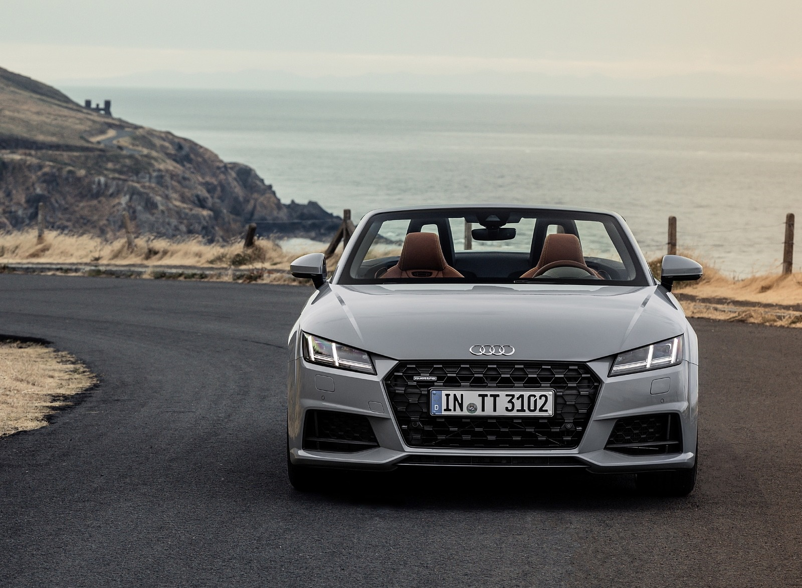2019 Audi TT 20th Anniversary Edition (Color: Arrow Gray) Front Wallpapers (10)