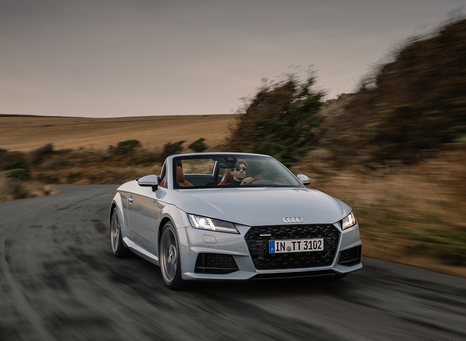 2019 Audi TT 20th Anniversary Edition (Color: Arrow Gray) Front Wallpapers (6)