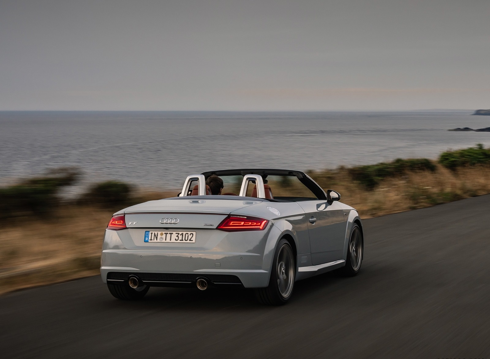 2019 Audi TT 20th Anniversary Edition (Color: Arrow Gray) Rear Three-Quarter Wallpapers (7)