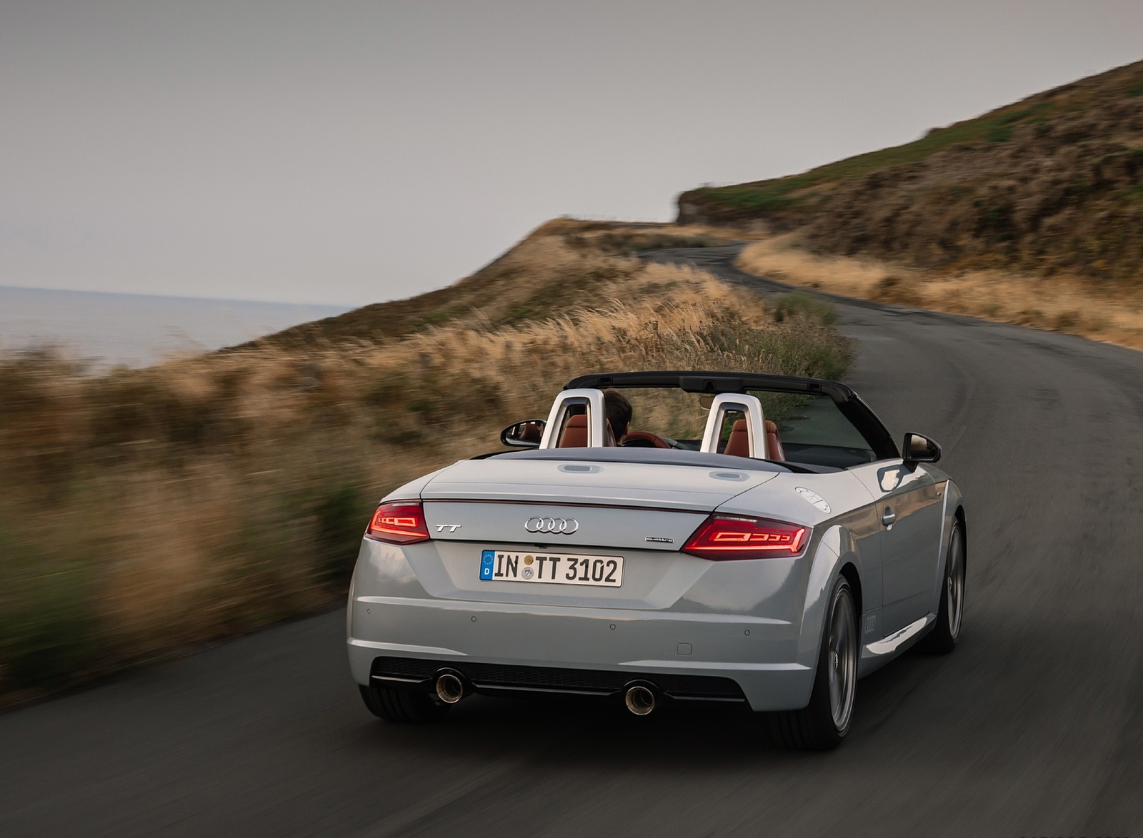 2019 Audi TT 20th Anniversary Edition (Color: Arrow Gray) Rear Three-Quarter Wallpapers (8)