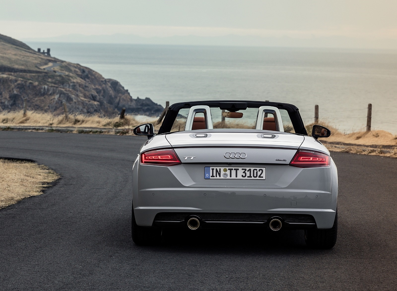 2019 Audi TT 20th Anniversary Edition (Color: Arrow Gray) Rear Wallpapers (11)