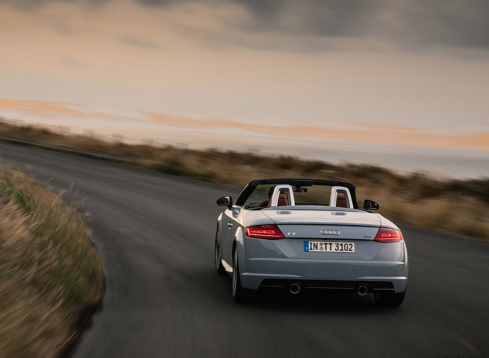 2019 Audi TT 20th Anniversary Edition (Color: Arrow Gray) Rear Wallpapers (3)