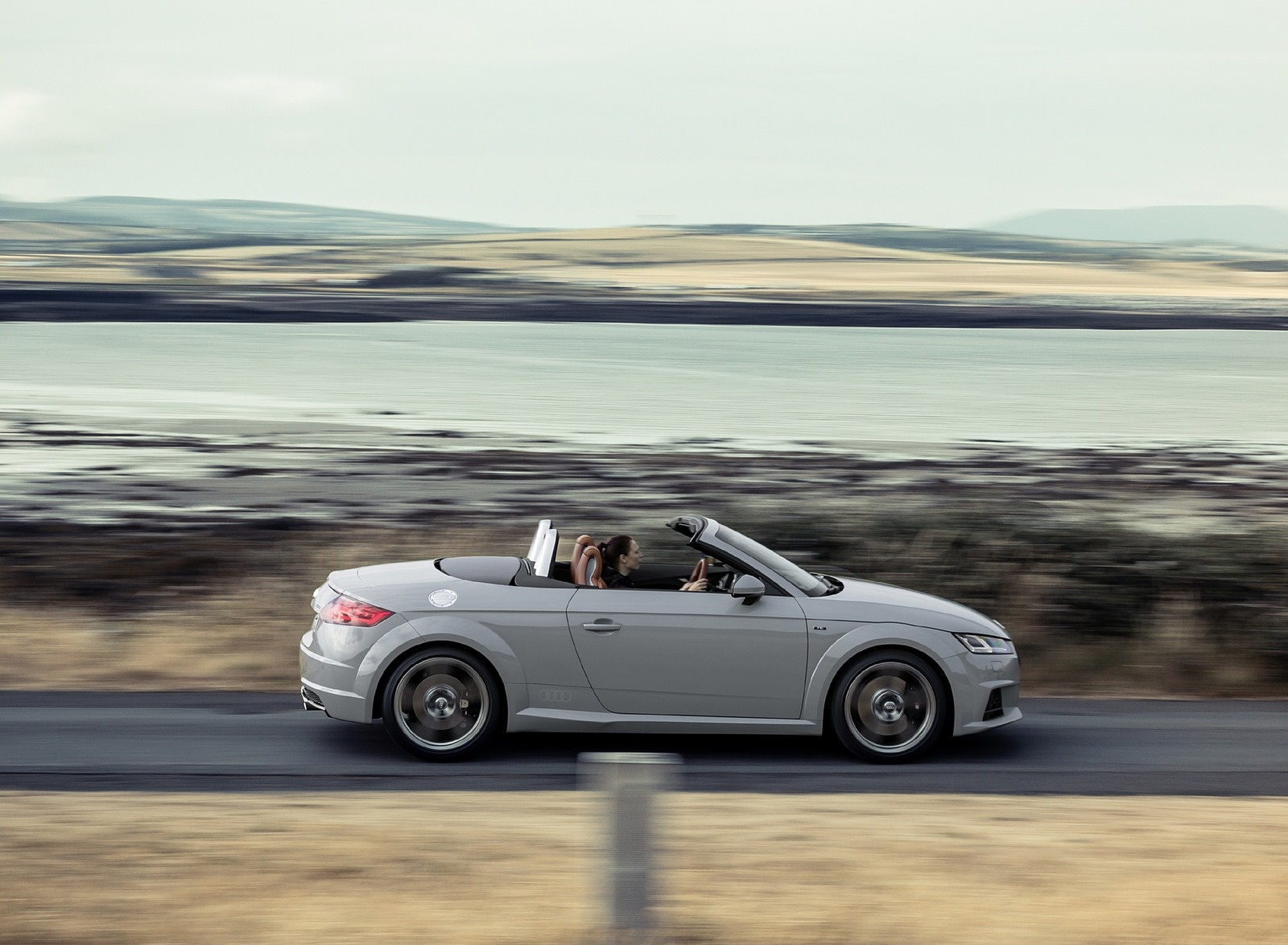 2019 Audi TT 20th Anniversary Edition (Color: Arrow Gray) Side Wallpapers (4)