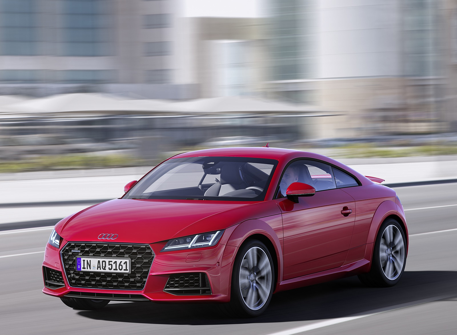 2019 Audi TT Coupe (Color: Tango Red) Front Three-Quarter Wallpaper (2)